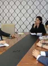Controladora-geral de Disciplina recebe representantes de entidade sindical