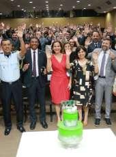 Homenagens marcam solenidade de comemoração pelos 8 anos da CGD