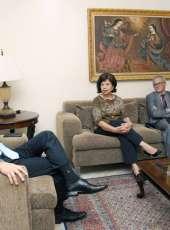 Controladora Geral de Disciplina realiza visita institucional a PGJ